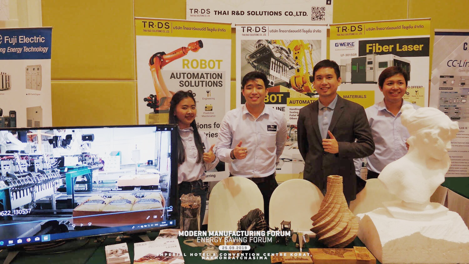 Thai R&D Solutions @Thailand Industrial Forum 2019 (Korat)